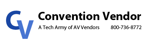 Convention Vendor: A Tech Army of AV Vendors 888-736-8301.